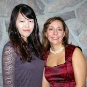Angela Lu and Mary Lou Newbold